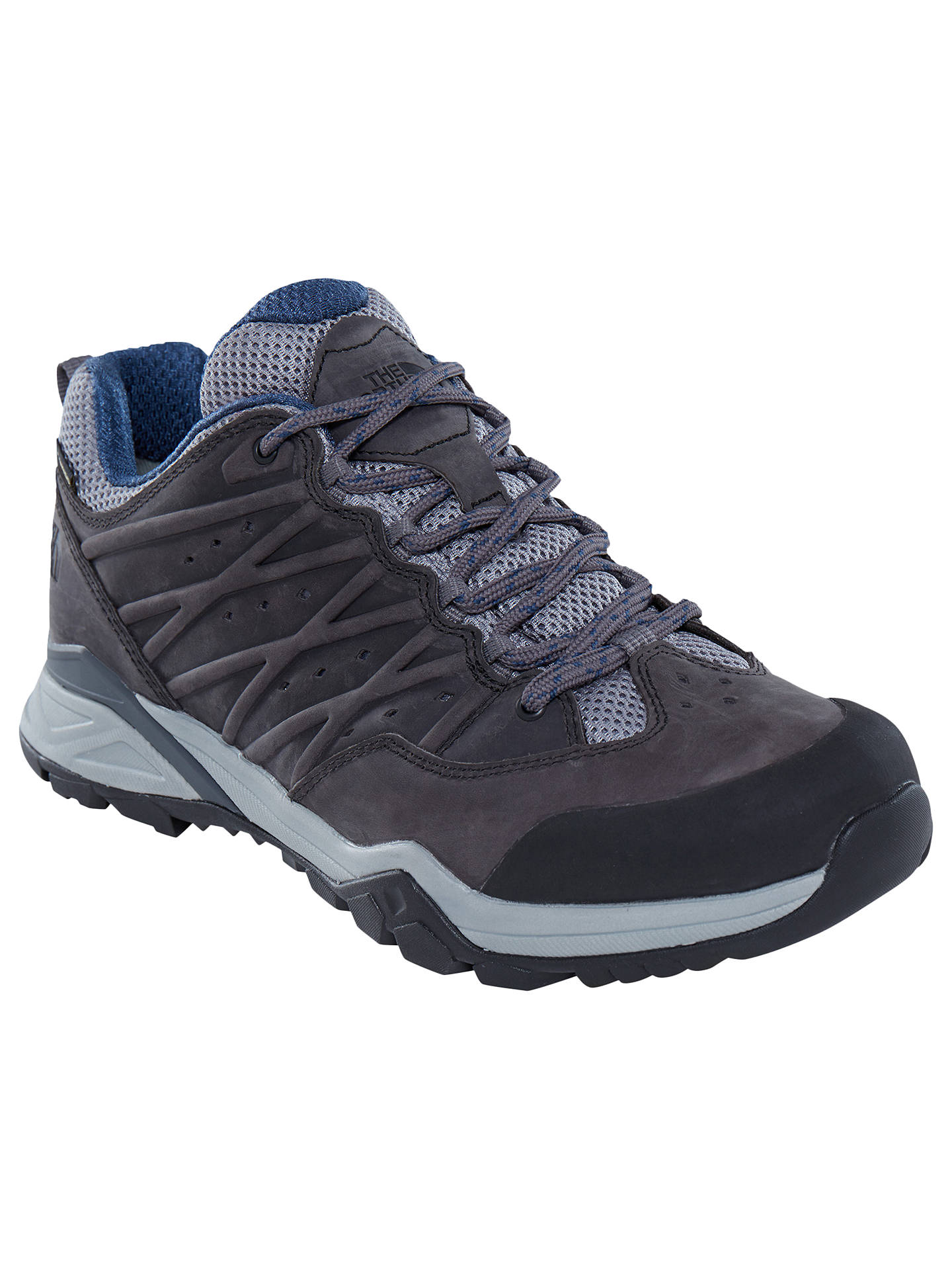 Buy The North Face Hedgehog Hike 2 GORE-TEX Men's Hiking Boots, Grey/Blue, 8 Online at johnlewis.com