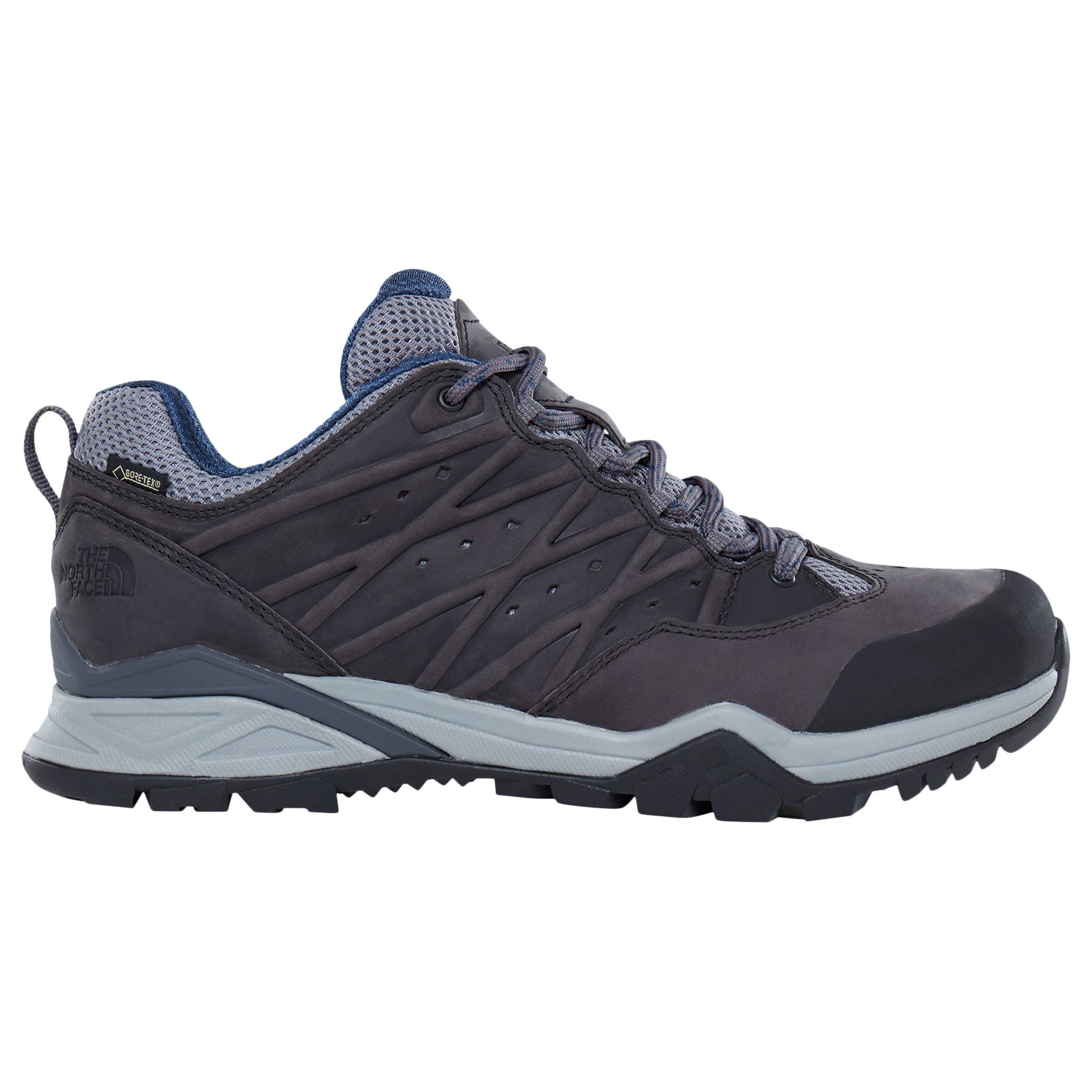 740e533ccb The North Face Hedgehog Hike 2 GORE-TEX Men's Hiking Boots, Grey/Blue