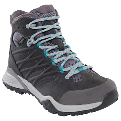 The North Face Hedgehog Hike 2 Mid GORE-TEX Women's Hiking Boots, Silver Grey