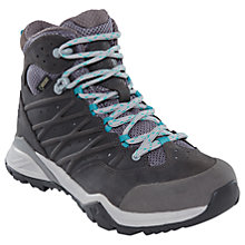 Buy The North Face Hedgehog Hike 2 Mid GORE-TEX Women's Hiking Boots, Silver Grey Online at johnlewis.com