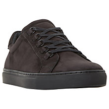 Buy Bertie Brace Nubuck Lace Up, Black Online at johnlewis.com