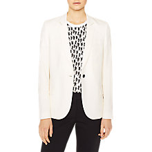Buy PS Paul Smith Woven Wool Blazer, Cream Online at johnlewis.com