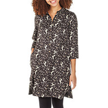 Buy Fat Face Kelly Birds Shirt Dress, Phantom Online at johnlewis.com