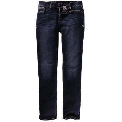 Fat Face Dark Wash Straight Jeans, Denim