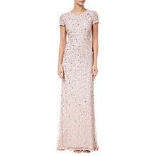 Buy Adrianna Papell Scoop Back Sequin Evening Dress Online at johnlewis.com