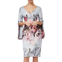 Buy Adrianna Papell Matalesse Dress, Ice Blue Multi Online at johnlewis.com