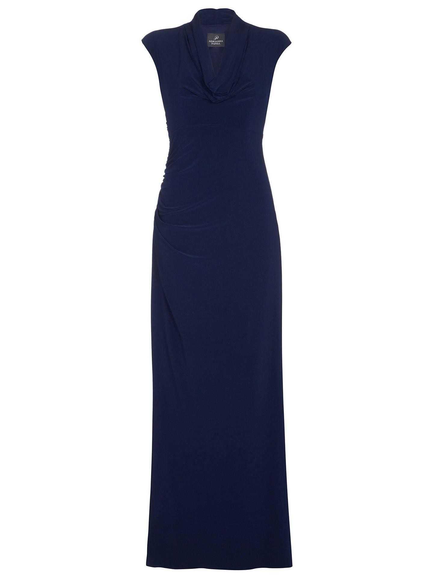 3fa7f28e06d00 ... BuyAdrianna Papell Draped Jersey Long Dress
