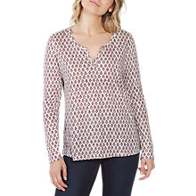 Buy Fat Face Edolie Country Floral Top, Ivory Online at johnlewis.com