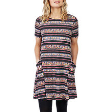 Buy Fat Face Simone Dusky Floral Dress, Multi Online at johnlewis.com