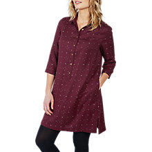 Buy Fat Face Kelly Daisy Ditsy Shirt Dress, Raisin Online at johnlewis.com