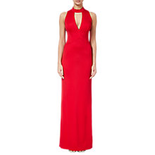 Buy Adrianna Papell Lola Maxi Dress, Red Fire Online at johnlewis.com