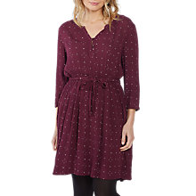 Buy Fat Face Maddison Daisy Ditsy Print Dress, Raisin Online at johnlewis.com