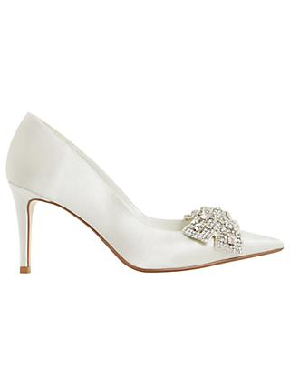 Dune Bridal Collection Beaubelle Stiletto Heeled Court Shoes Ivory