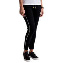 Buy Barbour International Track Trousers, Black Online at johnlewis.com