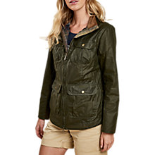 Buy Barbour Lightweight Filey Waxed Jacket, Archive Olive Online at johnlewis.com