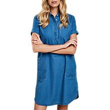 Buy Barbour Littlehaven Denim Shirt Dress, Chambray Online at johnlewis.com