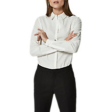 Buy Selected Femme Noella Shirt, Snow White Online at johnlewis.com