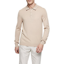 Buy Reiss Trafford Knit Polo Shirt Online at johnlewis.com