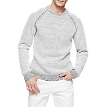 Buy Reiss Charlston Long Sleeve Jumper Online at johnlewis.com