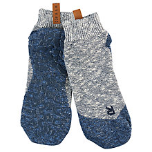 Buy Falke Lodge Homepad Socks, Blue Online at johnlewis.com