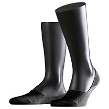Buy Falke Step No Show Trainer Socks, Black Online at johnlewis.com
