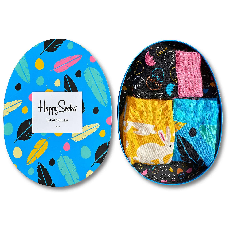Happy socks easter socks gift box pack of 3 one size blackyellow buyhappy socks easter socks gift box pack of 3 one size black negle Gallery