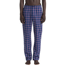 Buy Calvin Klein Check Lounge Pants, Navy Online at johnlewis.com