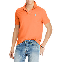 Buy Polo Ralph Lauren Custom Slim Polo Shirt Online at johnlewis.com