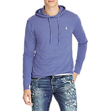 Buy Polo Ralph Lauren Long Sleeve Hooded T-Shirt Online at johnlewis.com
