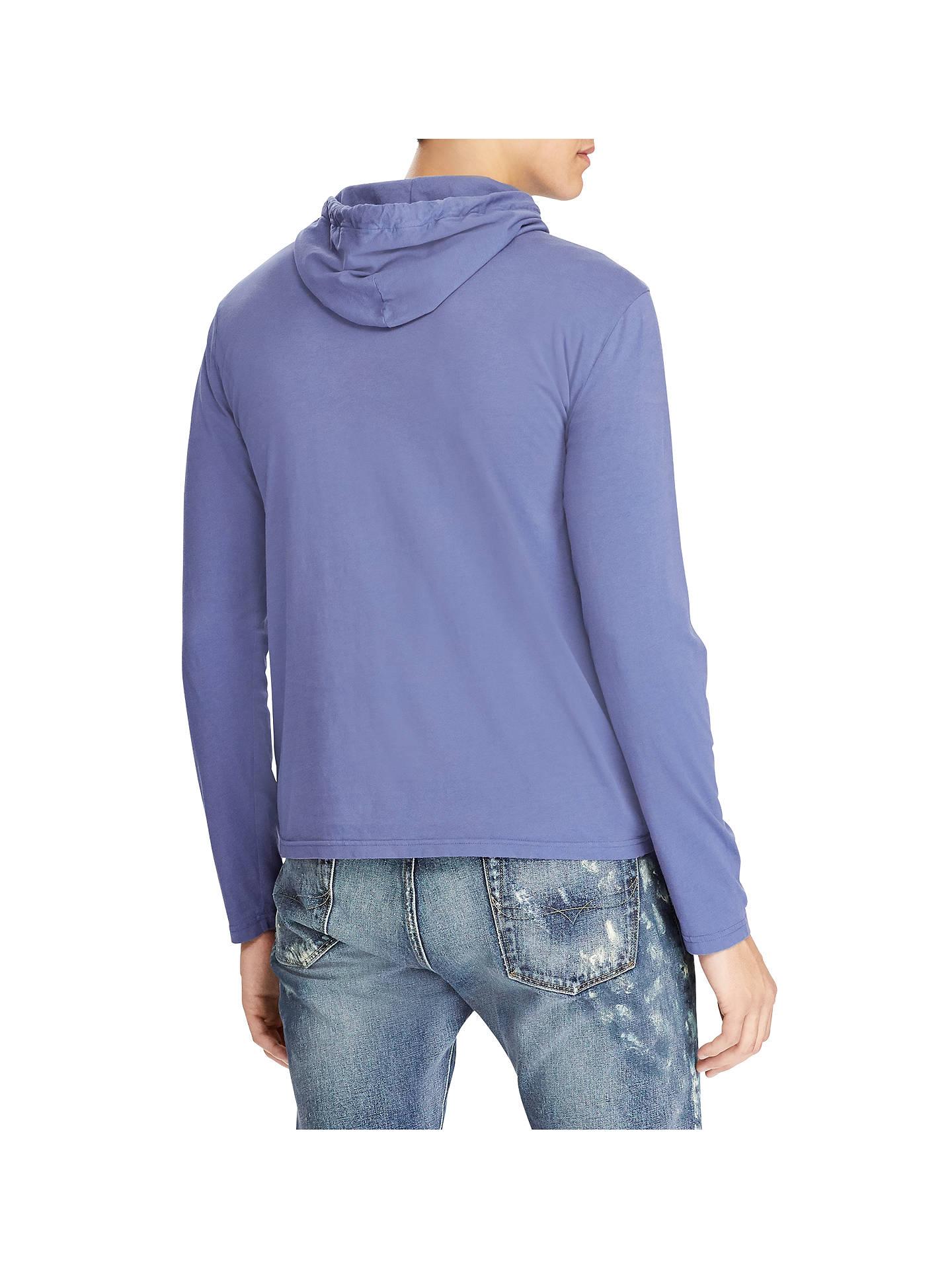 Polo Ralph Lauren Long Sleeve Hooded T Shirt at John Lewis