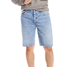 Buy Levi's 501 Hemmed Shorts, Livin Easy Online at johnlewis.com