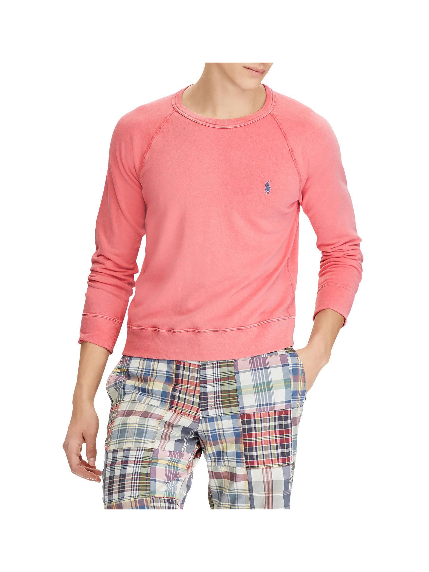 f20ed593b Polo Ralph Lauren Spa Terry Long Sleeve Crew Neck Sweatshirt ...