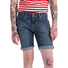 Buy Levi's 511 Slim Fit Hemmed Shorts, Tanager Online at johnlewis.com
