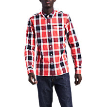 Buy Levi's Sunset 1 Pocket Shirt, Sunset Red Online at johnlewis.com