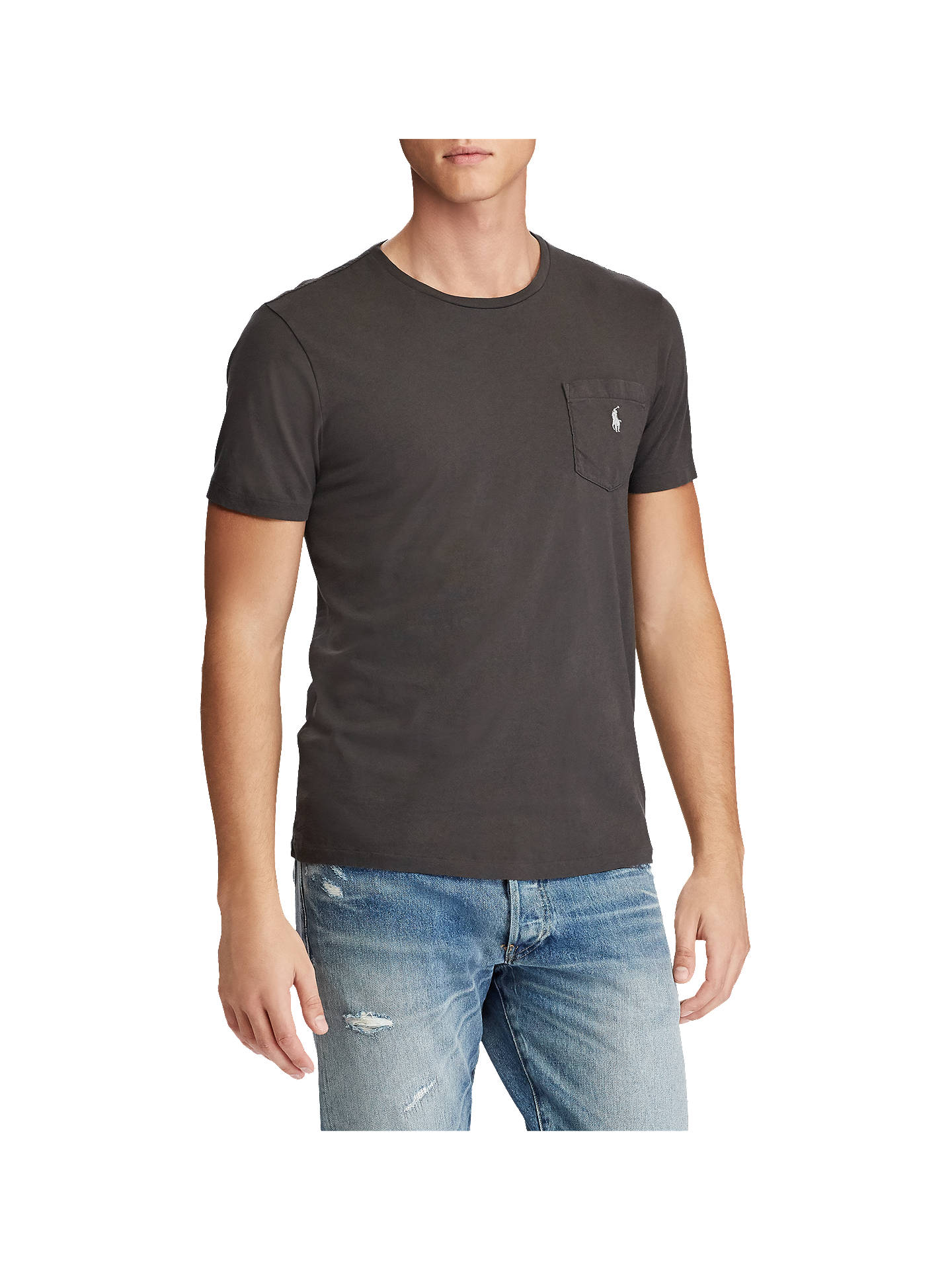 d129c4861 Buy Polo Ralph Lauren Custom Fit Pocket T-Shirt , Black Mask, S Online ...