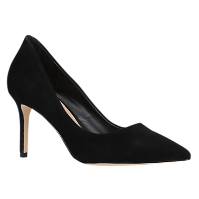 Kurt Geiger Brook Stiletto Heel Court Shoes, Black