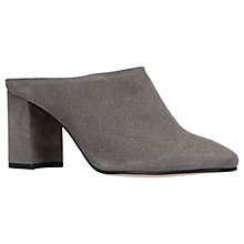 Buy Kurt Geiger Chelsea Block Heel Mules Online at johnlewis.com