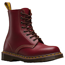 Buy Dr Martens Made In England 1460 Vintage Lace Up Boots Online at johnlewis.com