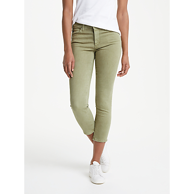 AG The Prima Crop Skinny Jeans, Sulfur Dry Cypress