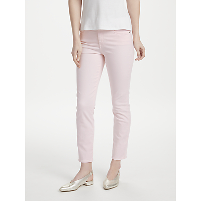 NYDJ Alina Skinny Ankle Jeans, Light Primrose