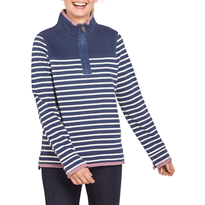 Fat Face Airlie Striped Sweatshirt