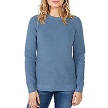 Buy Fat Face Cally Jumper, Surf Blue Online at johnlewis.com