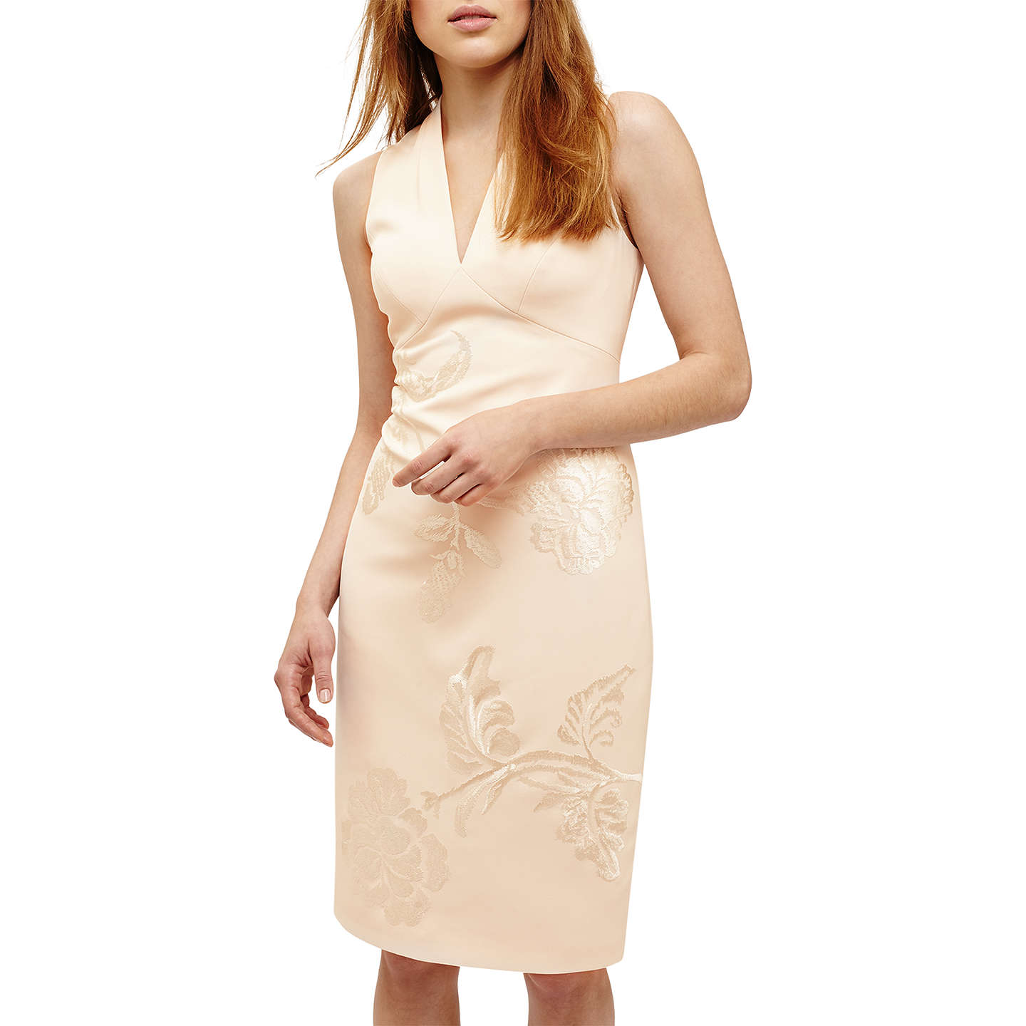 BuyPhase Eight Ruby Embroidered Dress, Cream, 8 Online at johnlewis.com