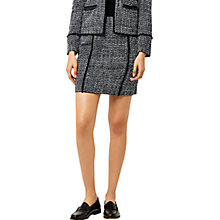 Buy Warehouse Bridget Tweed Skirt, Blue Pattern Online at johnlewis.com