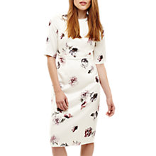 Buy Phase Eight Olga Rose Print Dress, Cream/Multi Online at johnlewis.com