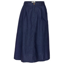 Buy Fat Face Maisie Denim Skirt, Indigo Online at johnlewis.com
