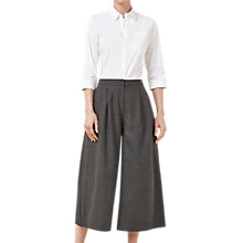 Buy Finery Baker Wide Leg Culottes, Grey Online at johnlewis.com