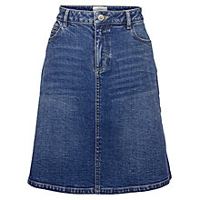 Buy Fat Face Delilah Denim Skirt, Denim Online at johnlewis.com