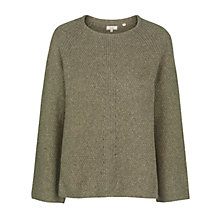 Buy Fat Face Frankie Fluted Sleeve Jumper Online at johnlewis.com
