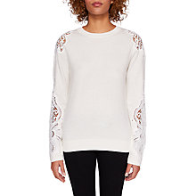 Buy Ted Baker Lace Detail Jumper Online at johnlewis.com